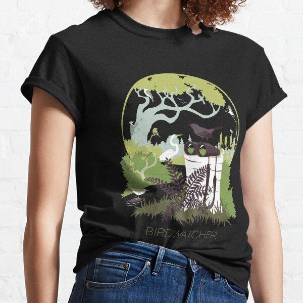 Birdwatcher (greens) Classic T-Shirt