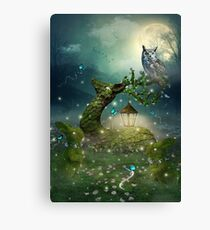 Keeper of the Enchanted - Spring Thaw Canvas Print