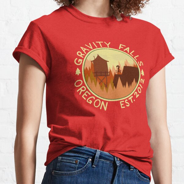Take A Trip To Gravity Falls! Classic T-Shirt