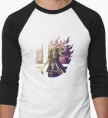 Smash Hype - Robin (Männlich) Baseballshirt mit 3/4-Arm