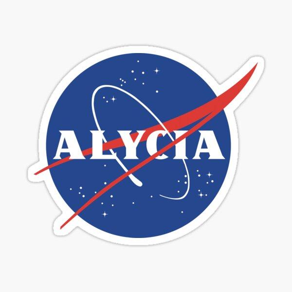 Alycia Debnam-Carey Nasa logo Sticker