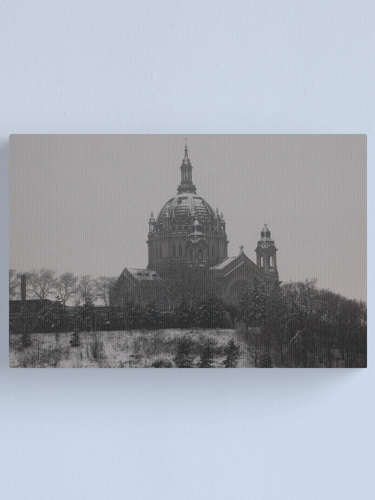 Alternate view of St. Paul Cathedral Canvas Print