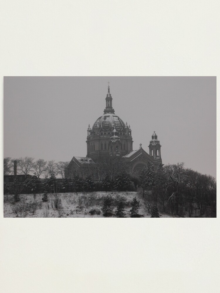 Alternate view of St. Paul Cathedral Photographic Print