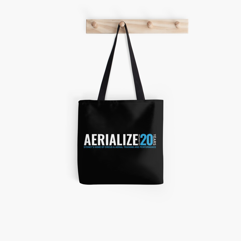 Aerialize Official 20th anniversary Merchandise Tote Bag