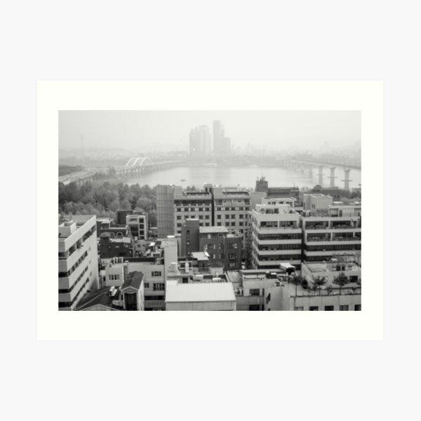 Seoul - South Korea Art Print