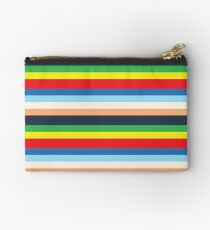 Max's Colourful Striped Outfit Zipper Pouch
