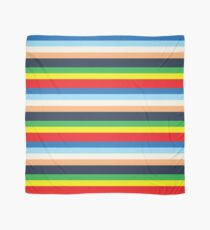 Max's Colourful Striped Outfit Scarf