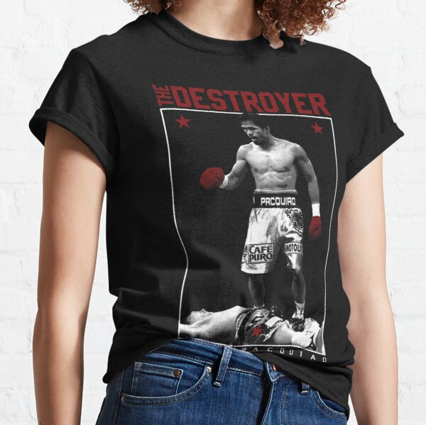 THE DESTROYER x MANNY PACQUIAO Classic T-Shirt