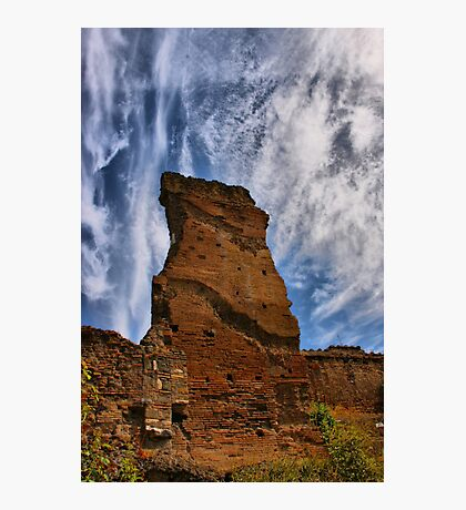 Ruins Against the Sky Photographic Print