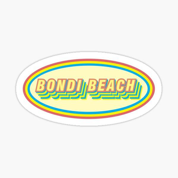 BONDI BEACH NSW AUSTRALIA Sticker