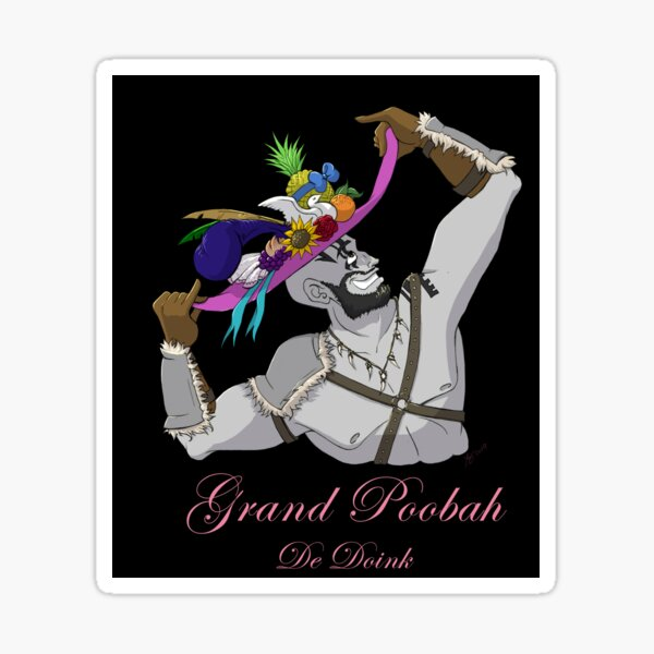 Grand Poobah Sticker