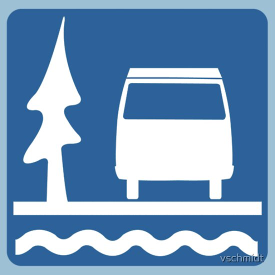 TShirtGifter presents: VW Vanagon Camping