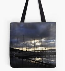 Sunset over Fahan Tote Bag