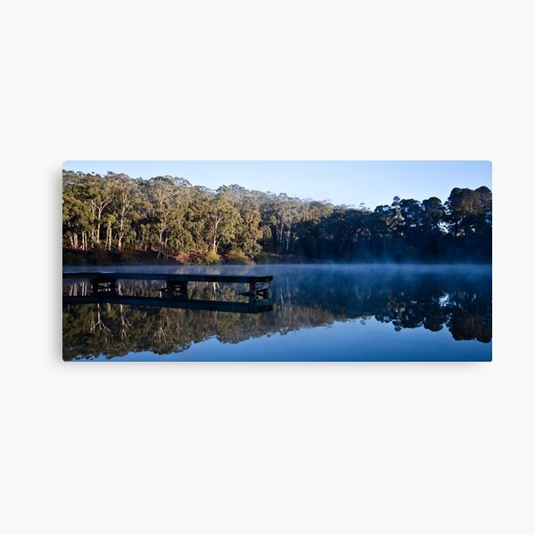 Mirrored Lake Daylesford Canvas Print