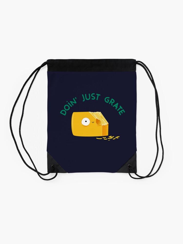 Alternate view of Grate Drawstring Bag