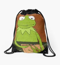 kermit Drawstring Bag