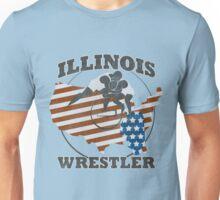ILLINOIS WRESTLER Unisex T-Shirt