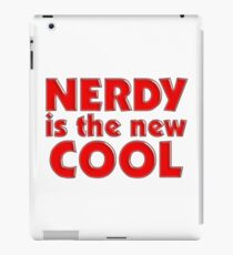 Nerdy is the new cool iPad Case/Skin