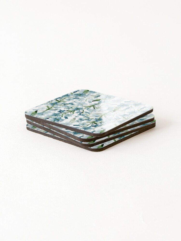 Alternate view of Blue branches Coasters (Set of 4)
