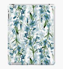 Blaue Zweige iPad-Hülle & Klebefolie