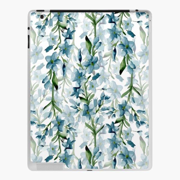 Blue branches iPad Skin