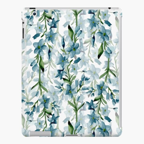 Blue branches iPad Snap Case