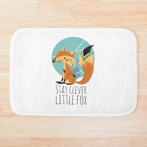 Stay Clever Little Fox Bath Mat