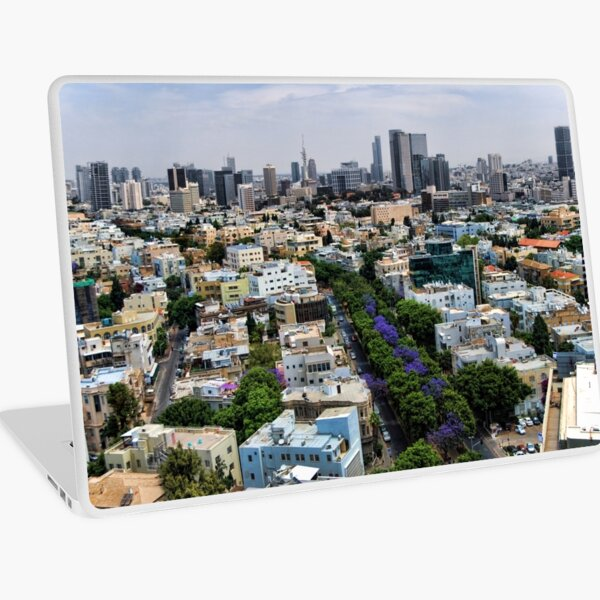 Rothschild boulevard season change Laptop Skin