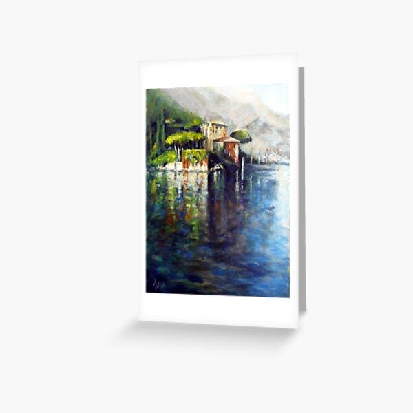 Lago Como (Italy) Greeting Card