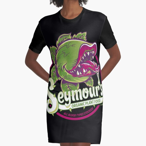 Seymour's Organic Plant Food - musical theatre - vintage - cult movie Graphic T-Shirt Dress