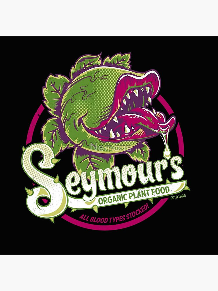Seymour's Organic Plant Food - musical theatre - vintage - cult movie by Nemons