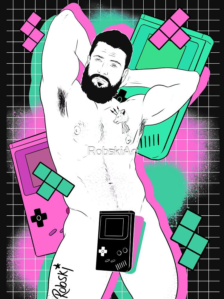GameBoy Black by RobskiArt