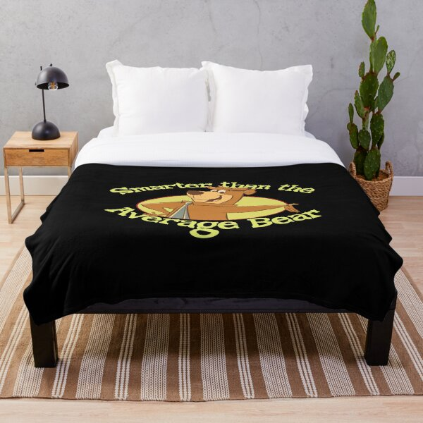 Yogi Bear Throw Blankets Redbubble