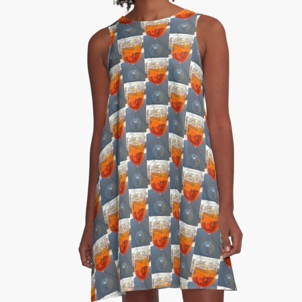 Aperol A-Line Dress