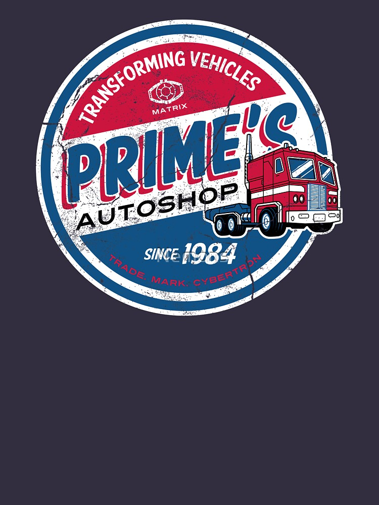 Prime's Autoshop - Vintage Distressed Style - Garage  by Nemons