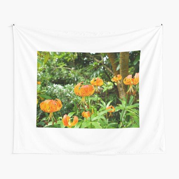 Carolina lily upside down flower Tapestry