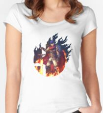 Smash Hype - Ike Women's Fitted Scoop T-Shirt