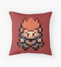 Lance Overworld Sprite: FRLG Throw Pillow