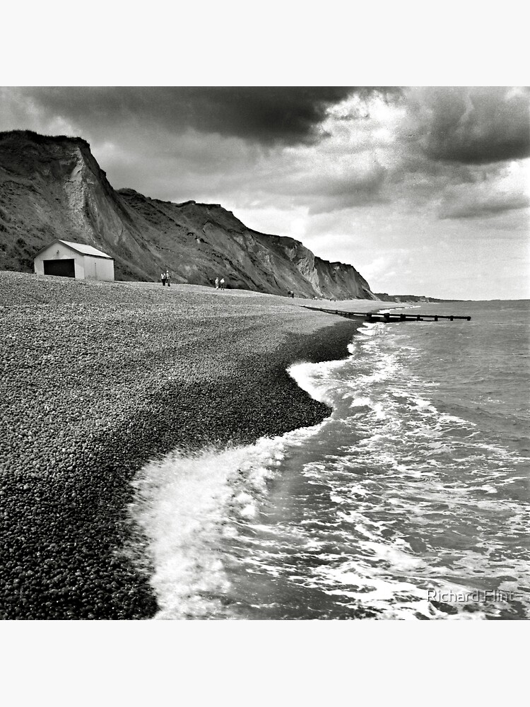 The pebble beach at Sheringham, Norfolk, UK by richflintphoto