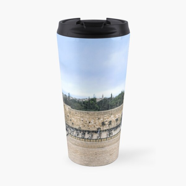 Jerusalem and the western wall Travel Mug
