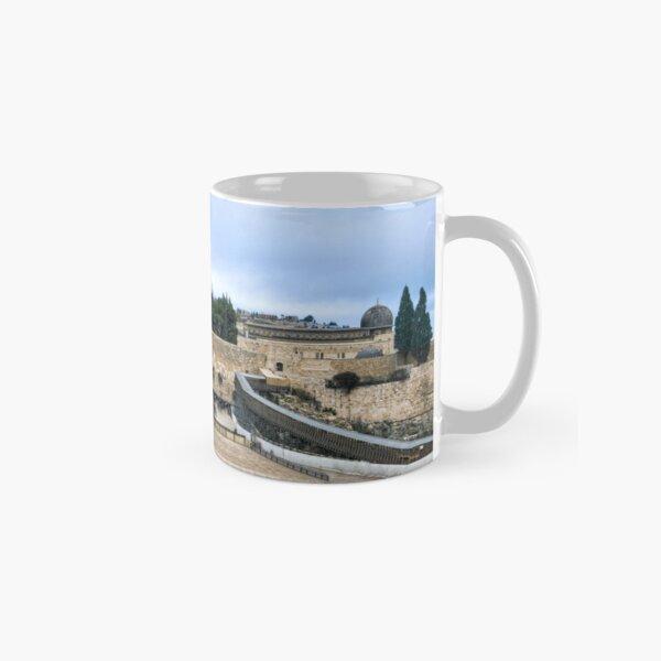 Jerusalem and the western wall Classic Mug