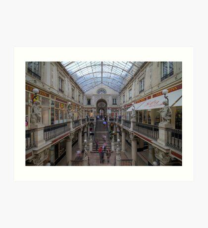 Canopied - Passage Pommeraye Art Print