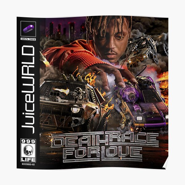 JUICE WRLD - DEATH RACE FOR LOVE Poster