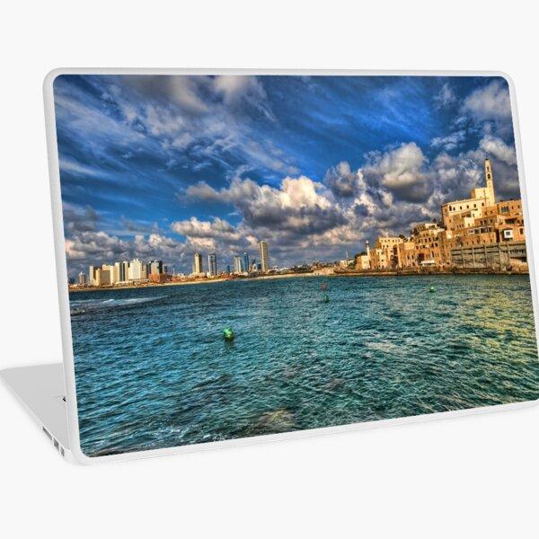 Tel Aviv Jaffa shoreline Laptop Skin