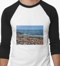 Tel Aviv spring time Men's Baseball ¾ T-Shirt