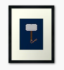 Hammer Down Framed Print