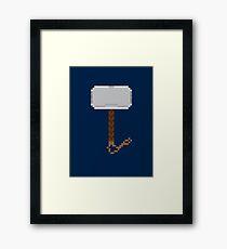 Hammer Down Framed Print