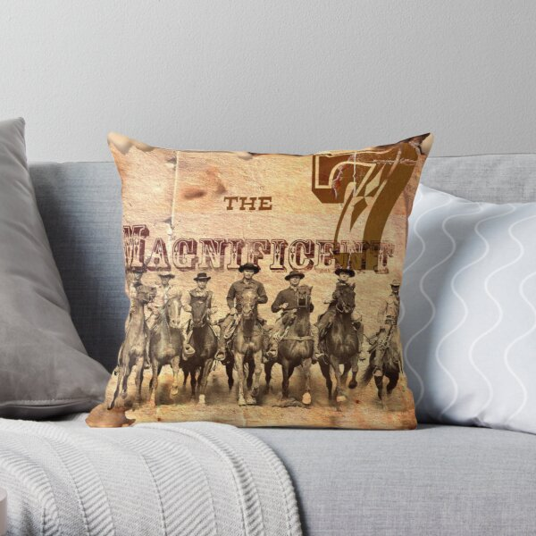The Magnificent Gang (1) Throw Pillow