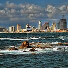 Tel Aviv shoreline by Ronsho