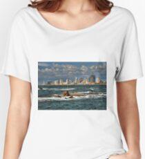Tel Aviv shoreline Women's Relaxed Fit T-Shirt